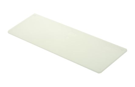 Raaco Clear Drawer Dividers, 50mm x 134mm x 2mm