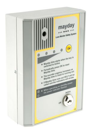 Mayday lone worker safety alarm system