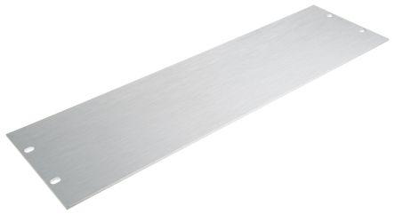 19-inch Front Panel, 3U, Unpainted, Aluminium