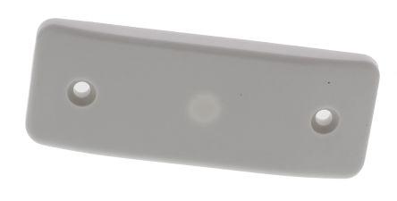Architrave blank plate 1g wht logic plus