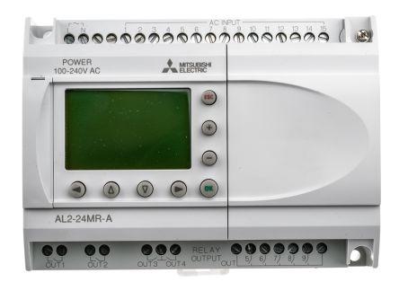 Alpha 2 Logic Module, 100 -> 240 V ac, 15 x Input, 9 x Output With Display product photo