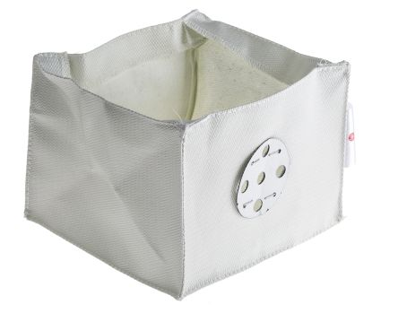 Fire Control Lighting Cover for use with Ceiling Mounting Light Fittings, 120mm Width,200mm Length