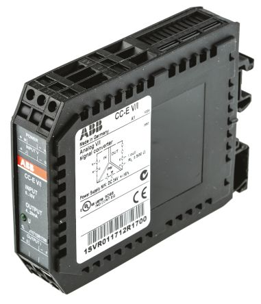 ABB Analogue to Current Signal Conditioner, 0 → 10 V Input, 4 → 20 mA Output