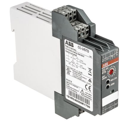 ABB Analogue to Analogue Signal Conditioner, 0 → 10 V, 0 → 20 mA Input