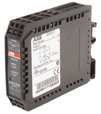 ABB Analogue → Current Signal Conditioner, 4 → 20 mA Input, 4 → 20 mA Output