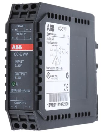 ABB Analogue to Voltage Signal Conditioner, 0 → 10 V Input, 0 → 10 V Output