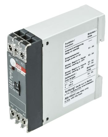 ABB Multi Function Timer Relay 01 300 s Solid State Output 24