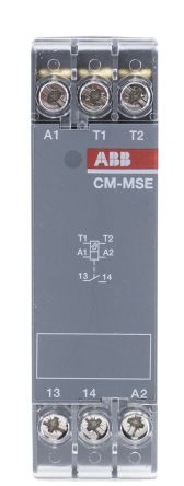 ABB Temperature Monitoring Relay with SPST Contacts, 1 Phase, 220 → 240 V ac