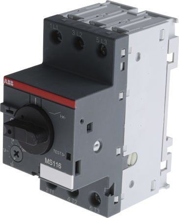 ABB Manual 3P Motor Protection Circuit Breaker, 690 V ac, 1, 3 Phase, IP20