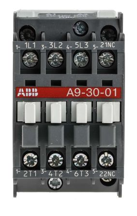 ABB 3 Pole Contactor, 25 A, 230 V ac Coil, AF Range, 3NO, 4 kW Abb Solid State Relay Wiring Diagram on