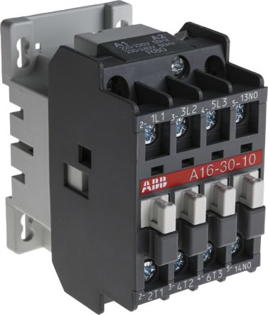 [SCHEMATICS_43NM]  1SBL181001R8010 - A16-30-10 220V | ABB 3 Pole Contactor - 30 A, 230 V ac  Coil, A Line, 3NO, 7.5 kW | RS Components | Abb 145 30 Contactor Wiring Diagram |  | RS Components