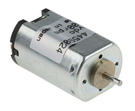 Canon Brushed DC Motor, 1 3 W, 12 V dc, 2 45 mNm, 5400 rpm, 2mm Shaft  Diameter
