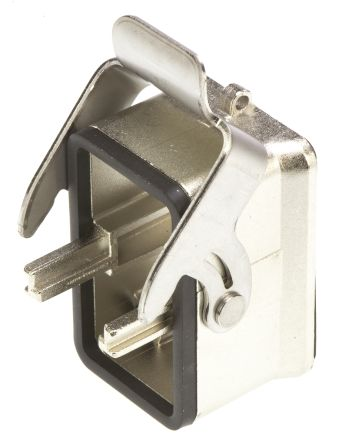 Connector, bulkhead mounting, 1 lever