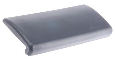 Black polyurethane armrest,250x110x35mm