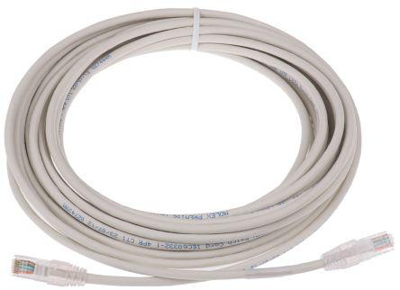 Molex Premise Networks Grey PVC Cat5e Cable U/UTP, 10m