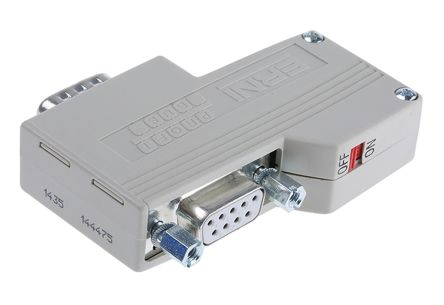 ERbic Profibus Series 9 Way Right Angle Female Screw Terminal D-sub Connector product photo