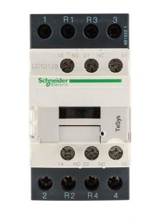 Contacteur avec contacts 2 N/O, 2 N/F, 25 A, 230 V c.a.