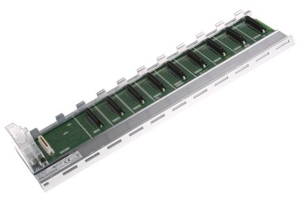 Mitsubishi Q Controller Base Unit 8 Slots, DIN Rail Mount