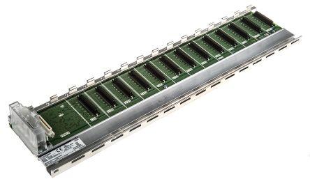 Mitsubishi Q Controller Base Unit 12 Slots, DIN Rail Mount