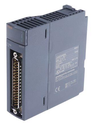 qy81p mitsubishi melsec q plc i o module 32 outputs 12 → 24 v dc Basic Electrical Wiring Diagrams at Qx81 Wiring Diagram