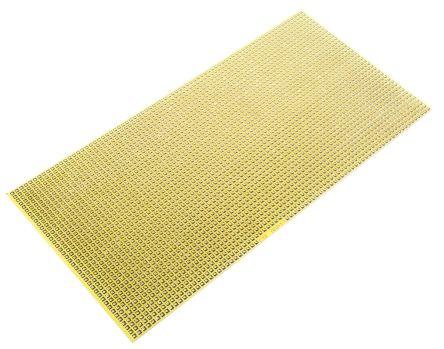 AGP12, Single Sided Matrix Board FR4 with 1mm Holes 2 54 x 2 54mm Pitch,  200 x 100 x 1 6mm