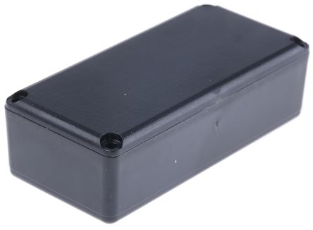 Black ABS Potting Box With Lid, 67 x 32 x 20mm product photo