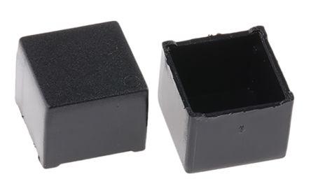 Black ABS Potting Box, 11 x 11 x 9mm product photo