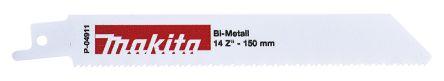 Makita 150mm Cutting Length bimetal, Reciprocating Saw Blade, 14 Teeth Per  Inch
