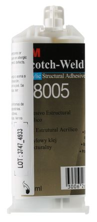 3M Scotch-Weld DP8005, 38 ml Liquid Acrylic Adhesive