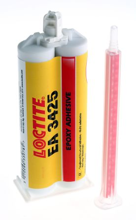 Hysol 3425 50 ml Yellow Dual Cartridge Epoxy Adhesive for Metal