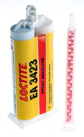 Loctite Hysol 3423, 50 ml Grey Dual Cartridge Epoxy Adhesive for Metal