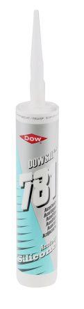 Dow Corning 781 Transparent Silicone Sealant Paste 310 ml Cartridge