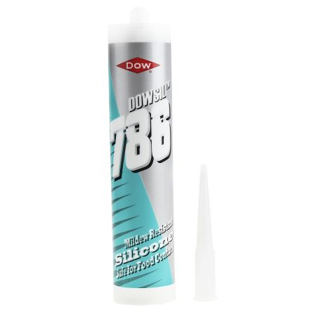 Dow Corning 786 Transparent Silicone Sealant Paste 310 ml Cartridge