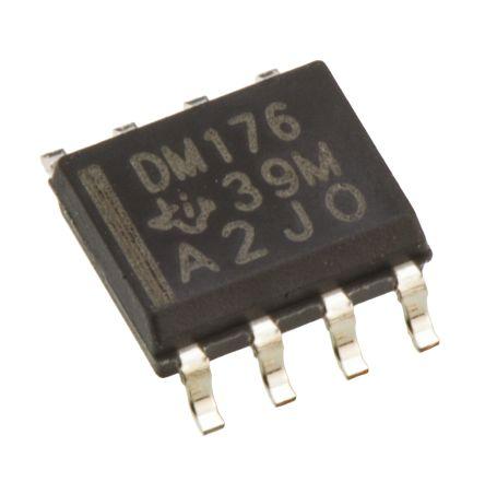 Texas Instruments SN65LVDM176D, LVDS Transceiver LVDS, 4-Ch, 3 → 3.6 V, 8-Pin, SOIC