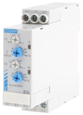 84871020 crouzet current monitoring relay with spdt contacts 1 rh uk rs online com Crouzet Solid State Relays Crouzet Multi-Function Timer DIN Sized
