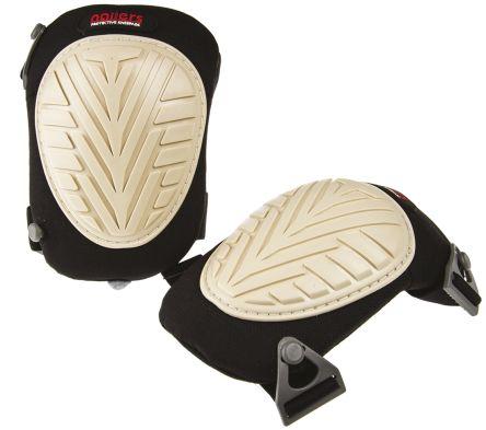 RS PRO Black Yes Nomar Adjustable Strap Knee Pad
