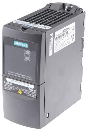 6se6440 2ud13 7aa1 siemens inverter drive 3 phase in 0 550hz rh uk rs online com Siemens VFD User Manual siemens micromaster 440 drive manual pdf