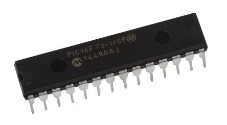 DIP-28 PIC16F886-I//SP By MICROCHIP 20MHZ 8BIT PIC16 MCU