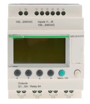 Schneider electric zelio logic logic module 100 240 v ac 6 x main product asfbconference2016 Images
