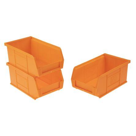 Rs Pro Orange Plastic Stackable Storage