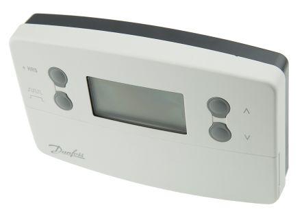 Danfoss ret2000b-rf wireless digital room thermostat+ rx1-s rf.