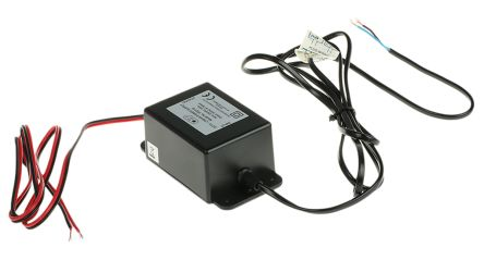 Black ABS CCTV power supply,24Vac 0.75A
