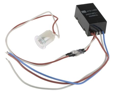 0.6W Lighting Controller Detector, Cadmium Sulfide, Remote Mount, 220 -> 270 V ac product photo