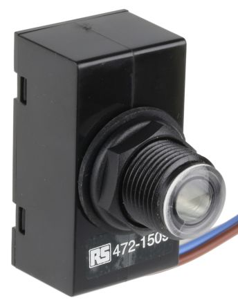 Royce Thompson Electric 0.25W Lighting Controller Switch, Filtered Silicon Photodiode, 220 → 270 V ac
