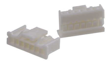 PAP-07V-S - Connector Housing - PA, 2mm Pitch, 7 Way, 1 Row product photo