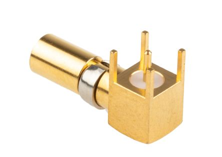RS PRO DIN 41612 Series Right Angle Female Gold Plated Copper Alloy DIN Connector Contact