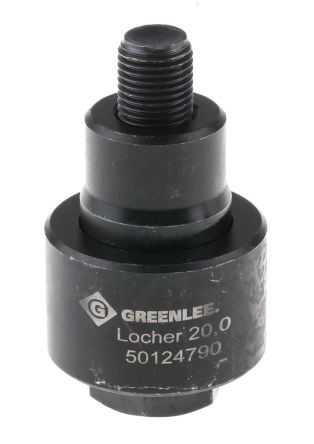 Greenlee Punch and Die Tool, 20.0mm, Circular, Hydraulic Operation