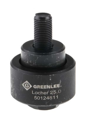 Greenlee Punch and Die Tool, 25.0mm, Circular, Hydraulic Operation