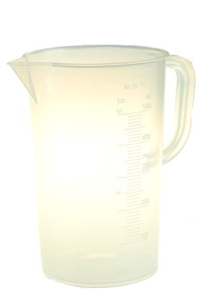 Polyprop moulded graduation jug,500ml