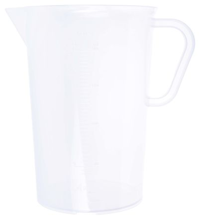 Polyprop moulded graduation jug,2000ml